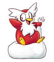 Delibird by Latte3000
