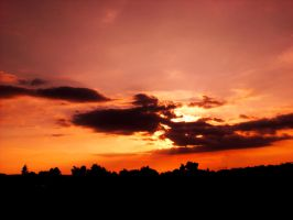 Sunset Over Bielefeld 37 by ErinM2000