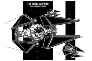 Tie Interceptor Sheet by Rafta