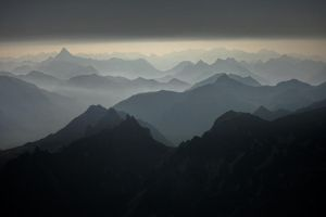 Valleys in the Mist by RobertoBertero