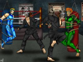 Punching Bag Heroes by Bowen12a