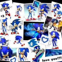 Photocollage_I_Love_You_Sonic by SonicMiku16