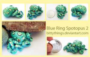 Blue Ring Spotopus - SOLD by Bittythings