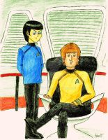 Star Trek meets The Beatles by yamihoole