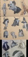 Acrylic Sketch Pages by MarcoBucci