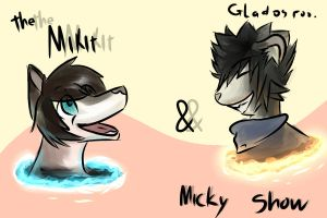 .:collab:. Mickit and micky. by Nuvoe