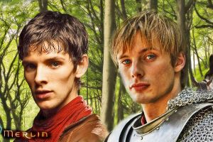 Merlin and Arthur by bex1991