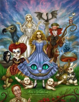 Alice in Wonderland by daekazu