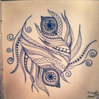 My Zendoodle 365-project, day55 by Nadik