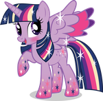 Rainbow Power Twilight Sparkle by benybing
