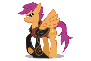 Scootaloo as Ganondorf by Undead-Niklos