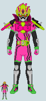 Toku sprite - Ex-Aid (Sports Action Gamer Lv.3) by Malunis