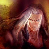 Sephiroth by LadyMignon