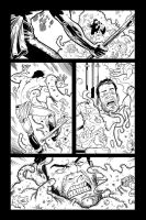 Fear Agent page inked by blackinks