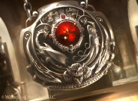 MTG: Quicksilver Amulet by Cryptcrawler
