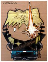 Longshot kitty by TomKellyART
