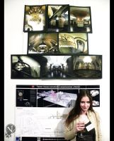 My photographs in a students exhibition. by VeIra-girl