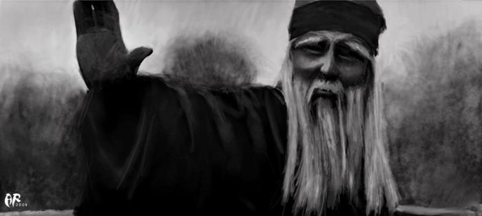 Energy Old man by Rubat-A