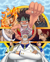 One Piece Cover 45 by HorizonOfDreams