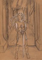 Lady of the Golden Hall by oboe-wan