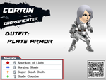 DLC Mii Fighter Recreations: Corrin (Female) by Cheatster9000x