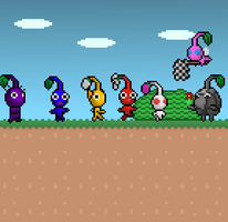 Another Pikmin Race by Ryanfrogger