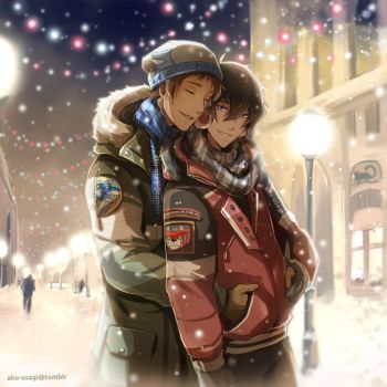 Merry Christmas! - Klance by Evil-usagi