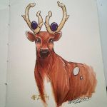 Stantler by MistressMustang