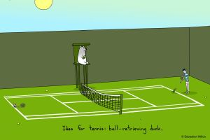 Idea for Tennis by sebreg