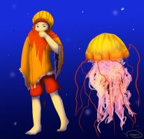 Jellyfish by VampireDinosaur