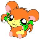 Girl Hamster Unknown Name by Tigerlillyzoey