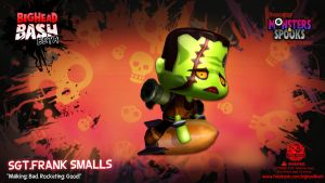 BHB Attack Force Sgt Smalls Frankenstein Wallpaper by SpicyHorseOfficial