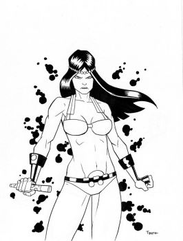Big Barda by TCSmith