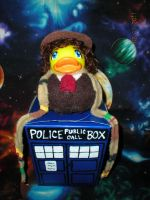 4th Dr. Who Rubber Duck by Oriana-X-Myst