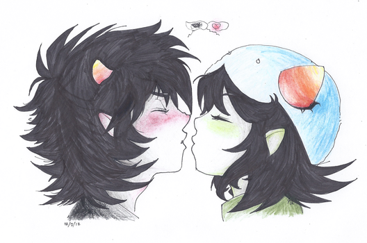 Finally Sailed - Karkat x Nepeta by ArtisticMii