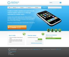IPhone Website Company by harkalopchan