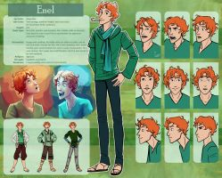 The Silver Eye - Enel Character Sheet by lostie815