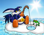 Big and Froggy Fishing by Mephilez