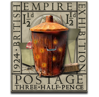 Steampunk Recycle Bin Icon MkII by yereverluvinuncleber