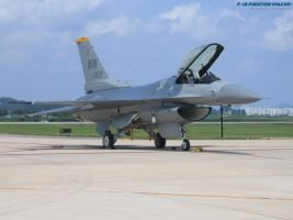 F-16 resting by Naiyion