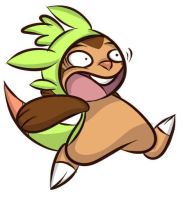 Pokemon XY: Chespin 2 by Stungun44