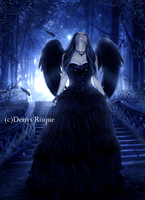 Angel Gotico by DenysRoqueDesign