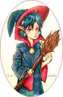 .:The Witch's Apprentice by Le-Vane