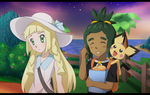 Friends from Alola by FloisonKeya