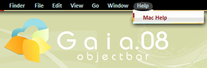 Gaia08 Objectbar by sinedrock