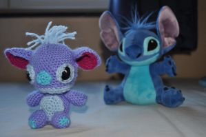 stitch amigurumi by Michiresu