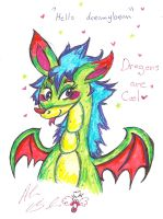 Hello Dragon by Kittychan2005