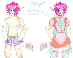 CLOSED femboy oc Adopt thing by HoofFingers