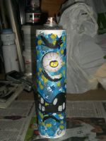 MONSTER CANS customised spray can character CYCLOP by ztenzila2