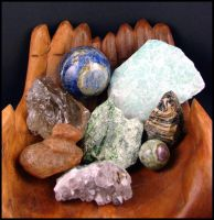 Rocks and Minerals by andromeda